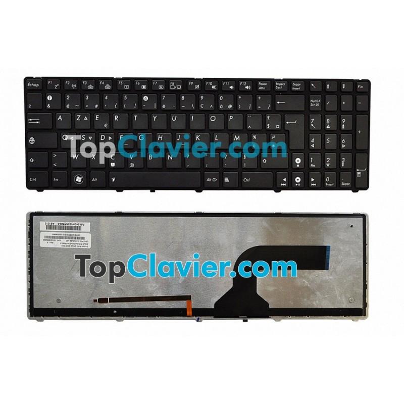 clavier pour portable asus g72 r tro clair. Black Bedroom Furniture Sets. Home Design Ideas